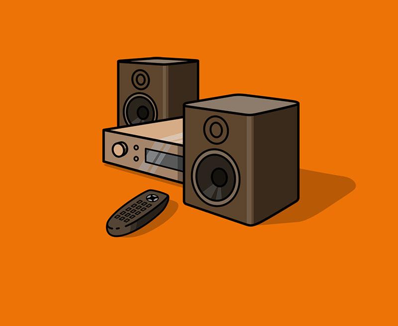 Schelllackplattenspieler/Grammophon